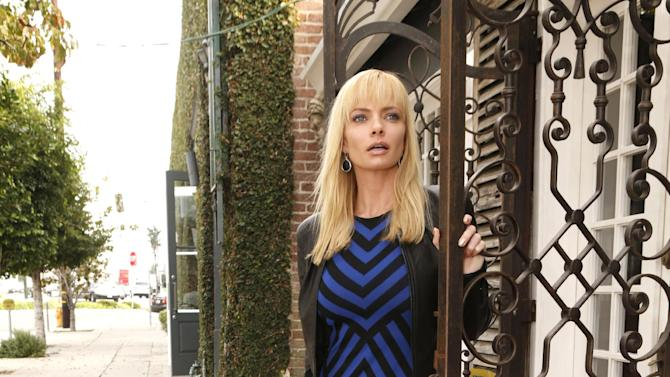 Jaime Pressly shops wearing a RVN Dress and a YoYo Yeung Jacket on Tuesday December 4, 2012 in Los Angeles, California. (Photo by Todd Williamson/Invision/AP Images)