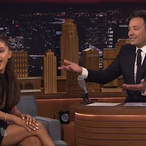 Ariana Grande Become Celine Dion On 'The Tonight Show'