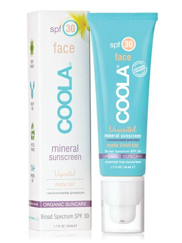 # 4: Coola Face SPF 30 Matte Finish Tint Mineral