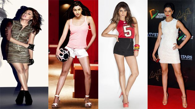 Who has got the best toned legs in B- Town?