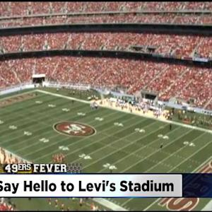 49er Fans Say Hello To Brand New Stadium