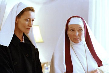 Natascha McElhone and Fionnula Flanagan NBC's Revelations