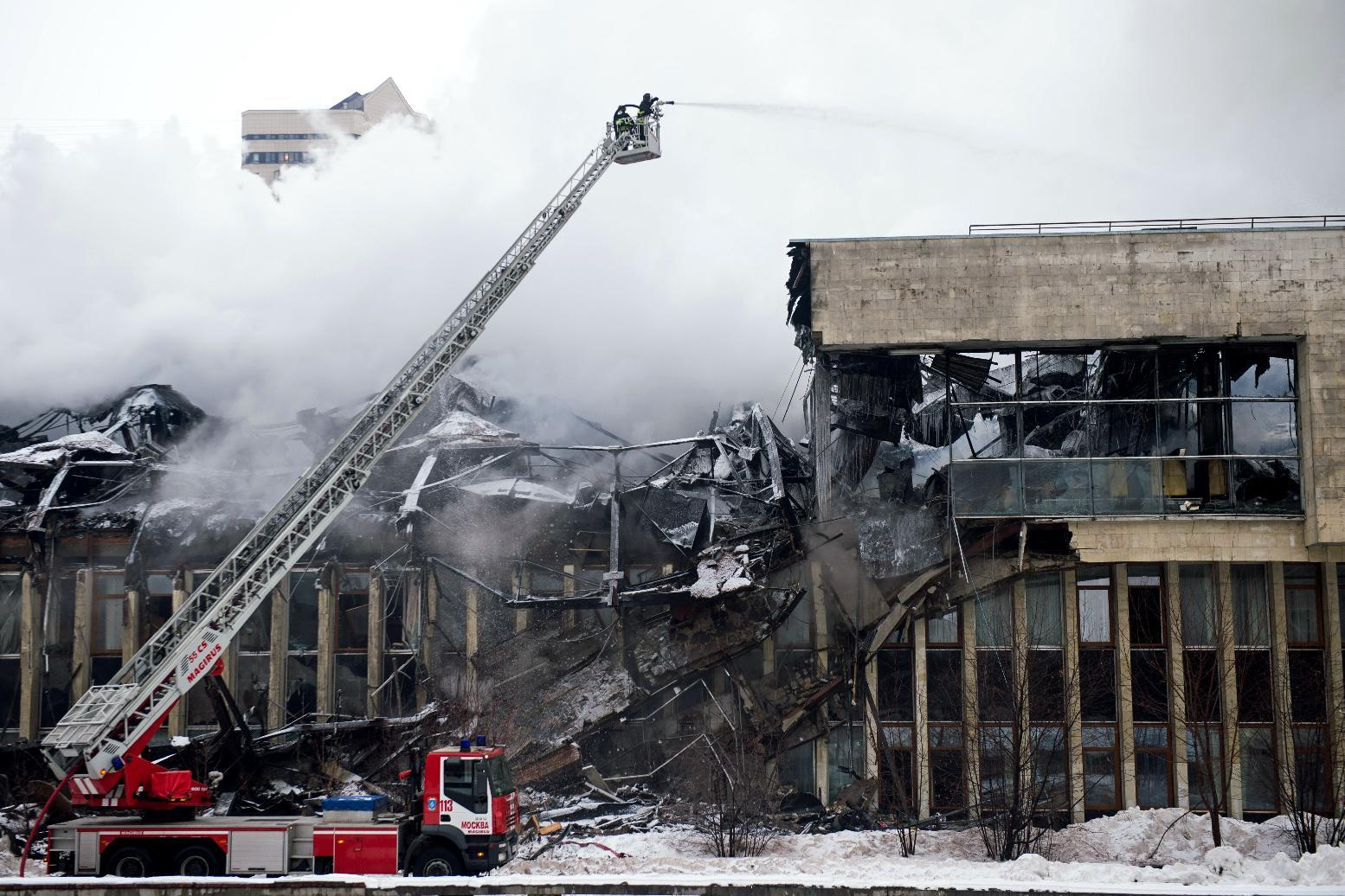 A million rare documents damaged in Moscow library blaze