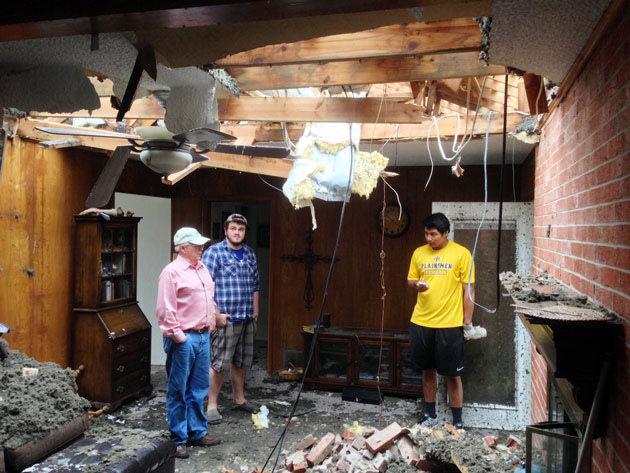 Texas grandfather survives massive tornado