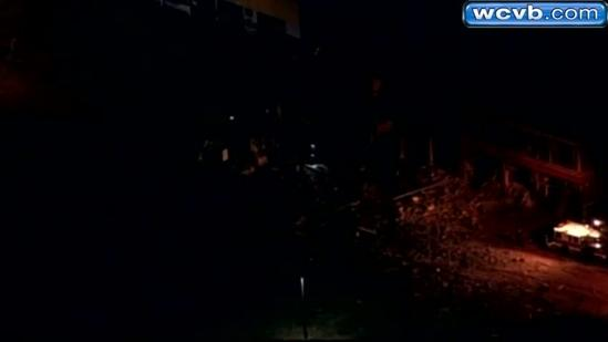 RAW Video: Sky 5 video from strip club explosion