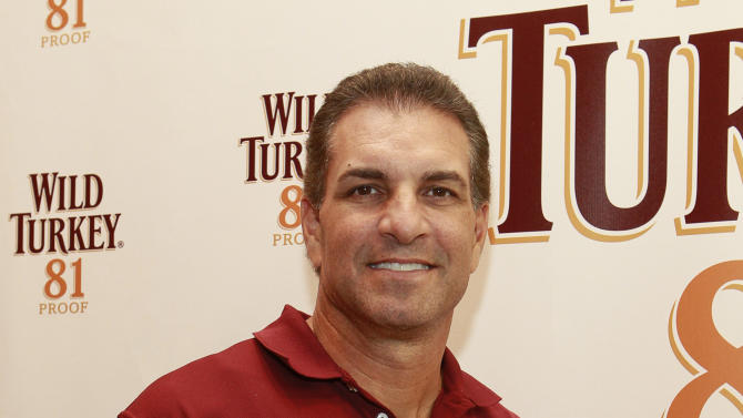 IMAGE DISTRIBUTED FOR WILD TURKEY - Football Picking legend Vinny Testaverde seen at the Wild Turkey Triple Barrel Challenge, on Tuesday, Nov. 20, 2012 in New York. (Photo by Mark Von Holden/Invision for Wild Turkey/AP Images)