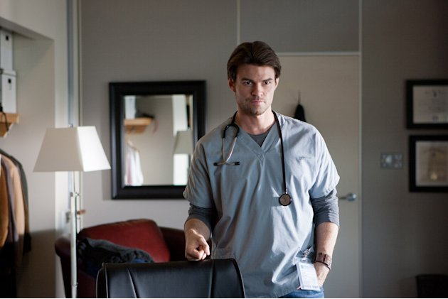 "Daniel Gillies stars as Dr. Joel Goran in ""Saving Hope."""