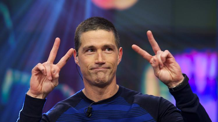 Matthew Fox Appears On Spanish TV Show 'El Hormiguero'