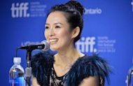 Chinese actress Zhang Ziyi, pictured in September, is suing a US-based Chinese online news outlet over claims that she was a prostitute who had sex with top official Bo Xilai and others, a lawyer said on Wednesday