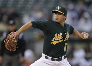 Tommy Milone shuts down Royals in strong A's debut