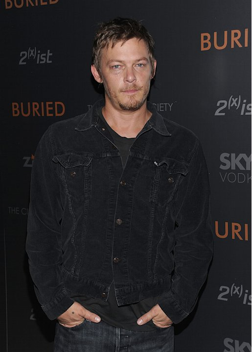 Buried NY Screening 2010 Norman Reedus