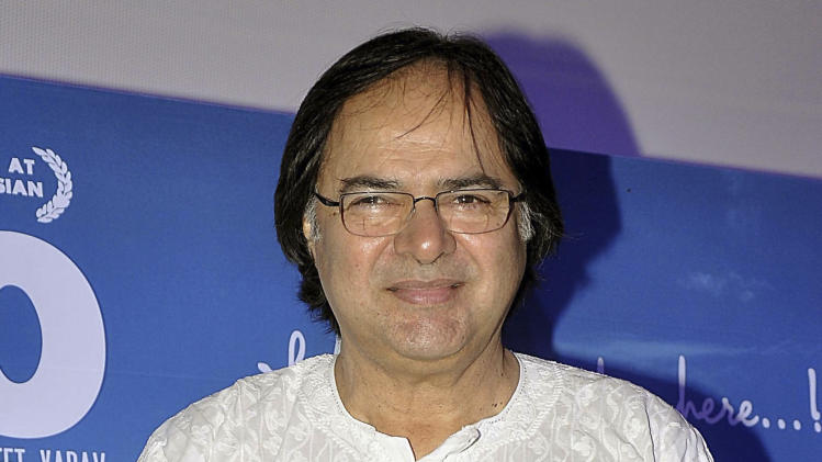 In this Nov. 30, 2013 photo, Indian actor Farooq Shaikh attends a