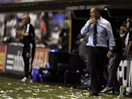 Mano Menezes, pictured on November 21, was sensationally sacked as coach of five-time world champions Brazil on Friday, dealing a hammer blow to the misfiring hosts of the 2014 World Cup