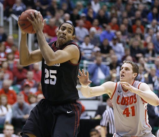 Harvard upsets New Mexico 68-62 in NCAA tourney
