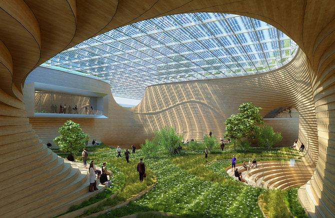 This Proposed Retail Complex in China Is Marvelous