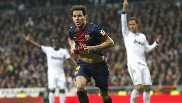 Liga - Fabregas: Barca must step it up against Real