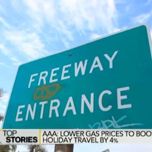 AAA: Lower Gas Prices Boost Holiday Travel by 4%