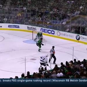 Jamie Benn Hit on Kyle Clifford (02:40/1st)