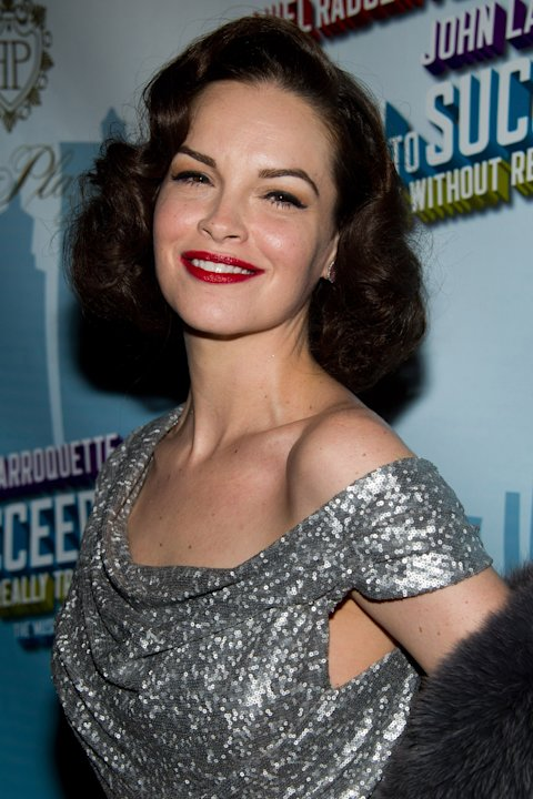 "FILE - In this March 27, 2011 file photo, actress Tammy Blanchard arrives to the opening night after party for ""How to Succeed in Business Without Really Trying"" in New York. Blanchard portrayed Judy"