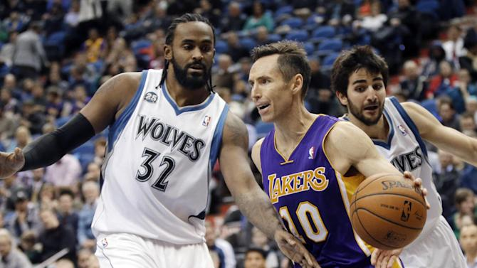 Nash, Meeks out for Lakers
