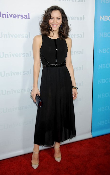"Katharine McPhee (""Smash"") attends the 2012 NBC Universal Winter TCA All-Star Party at The Athenaeum on January 6, 2012 in Pasadena, California."
