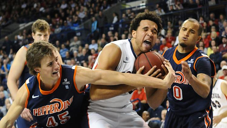 NCAA Basketball: Pepperdine at Gonzaga
