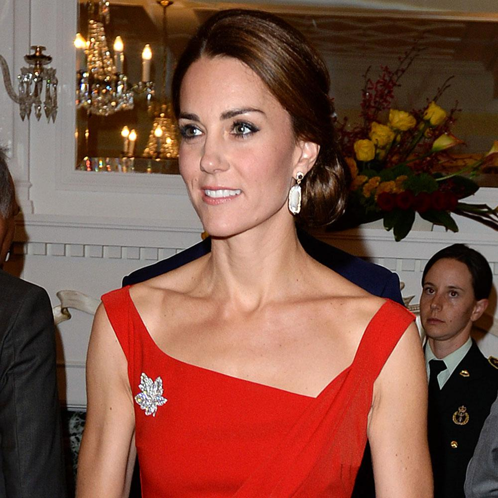 Why Kate Middleton's Stunning Red Dress Is Significant