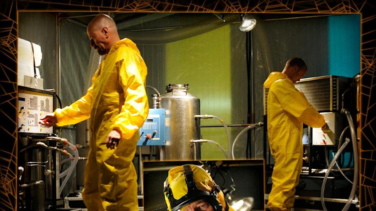 Breaking Bad - Jesse and Walt Lab Suits