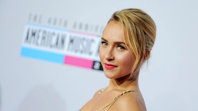 """FILE - This Nov. 18, 2012 file photo shows actress Hayden Panettiere, star of the ABC series """"Nashville"""" at the 40th Anniversary American Music Awards in Los Angeles. The music of """"Nashville"""" has been as much a star on the hourlong ABC drama as Panettiere, Connie Britton, Charles Esten, Jonathan Jackson, Clare Bowen and Sam Palladio. Yes, each really does sing his or her own part, and so far fans seem to be responding, buying more than 800,000 digital singles. (Photo by Jordan Strauss/Invision/AP, file)"""