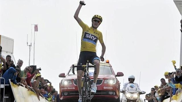Chris Froome gana en el Mont Ventoux