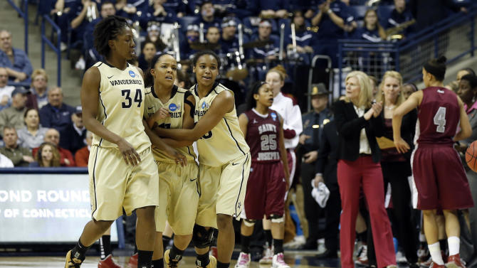 NCAA Womens Basketball: NCAA Tournament-Vanderbilt vs St Josephs