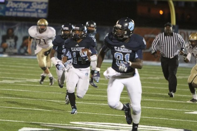 A fortuitous coin flip will allow Camden County to host a playoff game ... saving the school up to $20,000 &#x002014; CamdenWildcatFootball.com