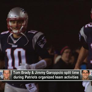 When will New England Patriots quarterback Jimmy Garoppolo start seeing more snaps?