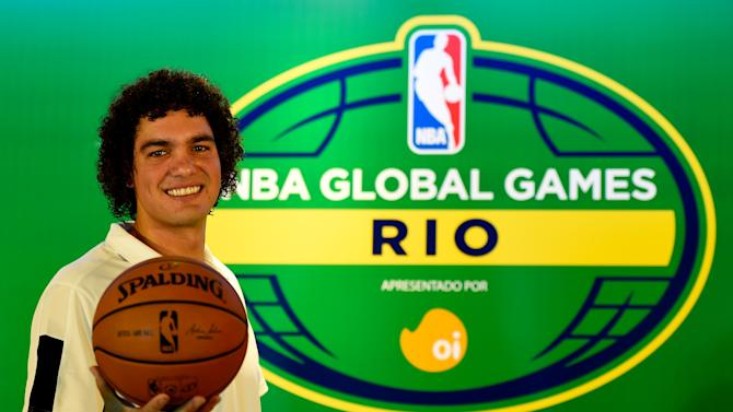 NBA Global Games Rio 2014 Miami Heat v Cleveland Cavaliers - Press Conference