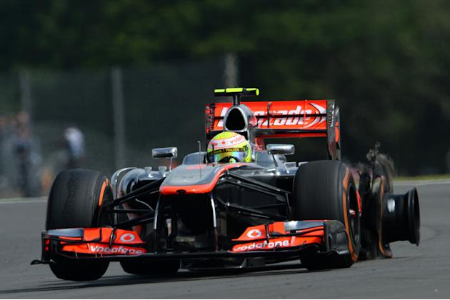 F1 Grand Prix of Great Britain - Qualifying