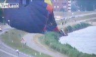 Hot Air Balloon Crash Caught On Camera
