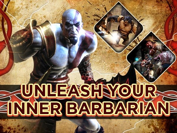 Unleash your inner barbarian