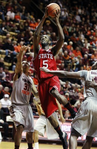 North Carolina State defeats Virginia Tech 70-58