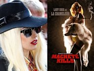 Gaga makes acting debut in &quot;Kills&quot;