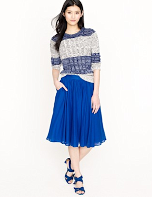 J.Crew Jardin Skirt 