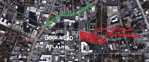Twin Projects Could Bring Big Changes to Buckhead Street