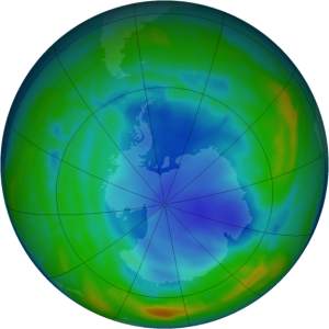 Is the Antarctic Ozone Hole Causing Warming?