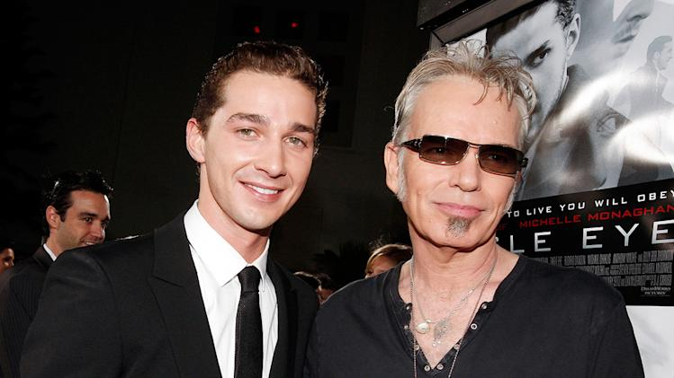 Eagle Eye LA Premiere 2008 Shia LaBeouf Billy Bob Thornton
