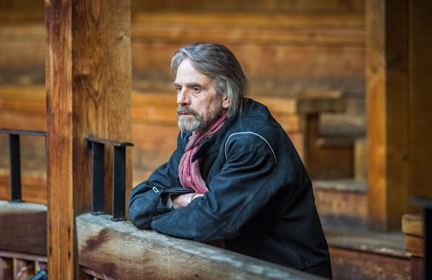 "This undated publicity image released by PBS shows Jeremy Irons, a host of ""Shakespeare Uncovered,"" an inventive series tracing the origins of six of the writer's plays through a combination of history, new analysis, and selected scenes. The series begins 9-11 p.m. EST Friday, Jan. 25, 2013. (AP Photo/PBS, Alex Brenner)"