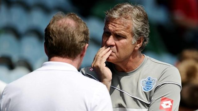 Kevin Bond (right) was pleased with QPR's display against his former club