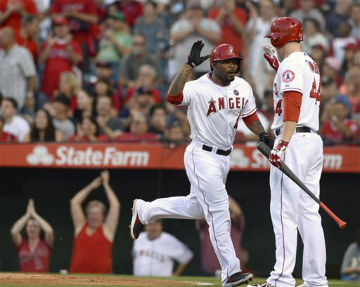Hamilton's homer in 11th lifts Angels over Red Sox