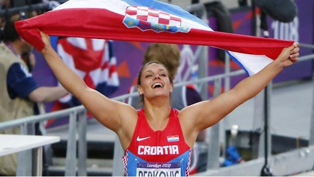 Perkovic strikes Olympic discus gold