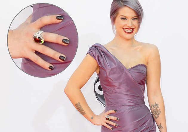 Kelly Osbourne at the Emmys (Getty Images)