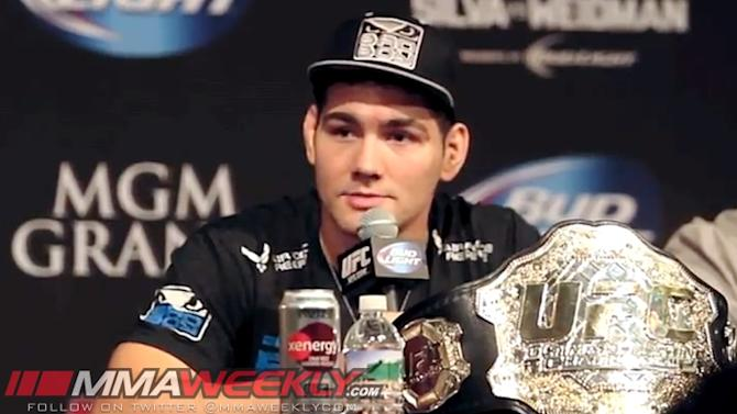 UFC 175 Fighter Salaries: Chris Weidman Tops the List Just Under Half a Million Dollars