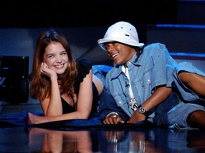 Katie Holmes and Lil Bow Wow